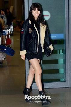 Airport Fashion: Suzy Returns to Korea Concluding Commercial Shoot for Bean Pole Outdoor in Thailand # kpop fashion # korea fashion
