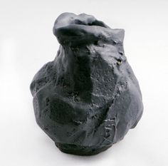 "Airbgr, ceramic artist from Sweden.  This vase is called "" Wet crow"". Very interesting carving."