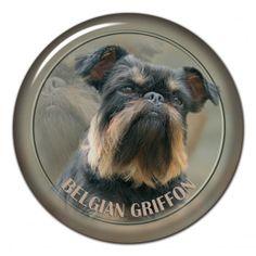 Belgian griffon 3D sticker - #belgiangriffon #griffonbelge