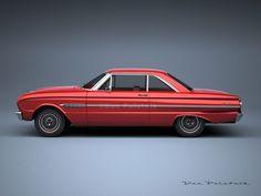 A Garagem Digital de Dan Palatnik | The Digital Garage Project: 1963 Ford Falcon Sprint Coupe
