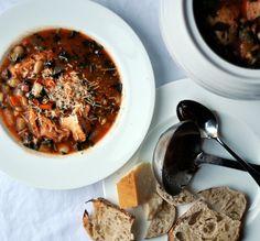 Soup Recipe: Italian Bread & Tomato Soup (Ribollita) — Soup Recipes from The Kitchn