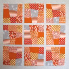 Link to quilt block and quilt patterns from Oh Fransson ... : crazy nine patch quilt pattern - Adamdwight.com