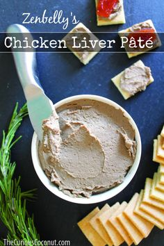 Easy and delicious chicken liver pate from The Zenbelly Cookbook // TheCuriousCoconut.com