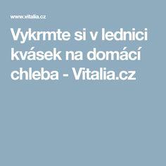 Vykrmte si v lednici kvásek na domácí chleba - Vitalia.cz