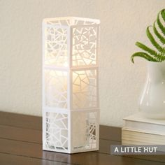 candle cover papercut