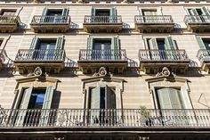 Appartments above Carrer de la Ribera Barcelona Catalonia Spain…