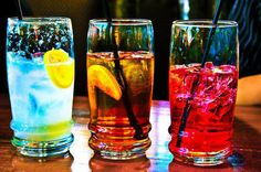 Coloured Drinks
