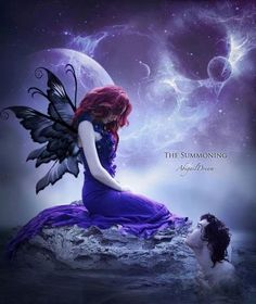 *+*Mystickal Faerie Folke*+*...The Summoning... By Artist Abigail Dream...