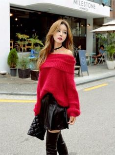 Fashion korean kpop ulzzang skirts ideas - New Site Hot Outfits, Casual Summer Outfits, Girl Outfits, Fashion Outfits, Fashion Trends, Asian Cute, Cute Asian Girls, Korean Street Fashion, Asian Fashion