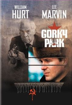 A gallery of Gorky Park publicity stills and other photos. Featuring William Hurt, Lee Marvin, Joanna Pacula, Michael Apted and others. 1980s Films, 80s Movies, Good Movies, Movie Tv, Classic Tv, Classic Movies, Lee Williams, William Hurt, Lee Marvin