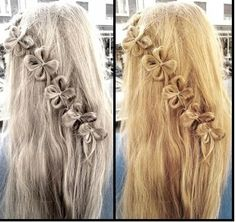 Most people think of thick hair as luxurious. Thin, fine hair is often seen as limp and unable to hold any particular style. But it is actually versatile and can be made to look most any way a pers… Easy Hairstyles For Long Hair, Modern Hairstyles, Bride Hairstyles, Pretty Hairstyles, Plait Hairstyles, Classy Hairstyles, Style Hairstyle, Flower Braids, Hair Dos