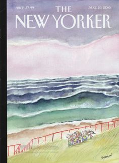 The New Yorker August 29, 2016 / cover by sempé