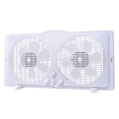This is 9 in. reversible twin window fan with built-in thermostat. It features wind-in, wind-out and wind-exchange option. Its turbo fan blades help speed up maximum air movement. The design for the accordion Rental Decorating, Decorating Tips, Ranger, Window Fans, Window Blinds, Range Hood Vent, Rental Kitchen, Plastic Injection, Home Upgrades