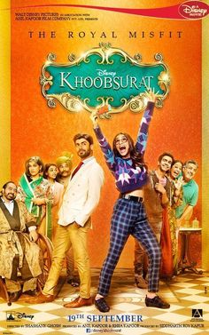 Heartthrob of Pakistan, Fawad Khan, makes his big Bollywood debut in Khoobsurat, India's first ever Disney film. Bollywood Posters, Bollywood Cinema, Bollywood Actors, Great Movies, New Movies, Disney Movies, Romantic Comedy Movies, Comedy Film, Movies 2014