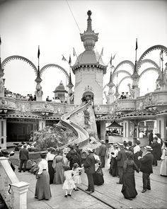 Victorians loved a good amusement park. Spending exorbitant amounts of money to queue in long lines in the hot sun for 30 seconds of adrenaline is a summer tradition.