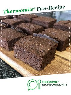 Recipe Ultimate Keto Chocolate Brownies by Figee, learn to make this recipe easily in your kitchen machine and discover other Thermomix recipes in Baking - sweet. Brownies Cétoniques, Chocolate Fudge Brownies, Keto Chocolate Cake, Thermomix Recipes Healthy, Thermomix Desserts, Keto Desserts, Lemon Recipes, Sweets Recipes, Baking Recipes