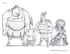 CHARACTER DESIGN 1 by HONG LY + KEVIN CHEN: . WK 4 | Ideation Sketch Pages .