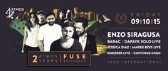 Atmos 2 Years with Enzo Siragusa, Barac & More at Fuse