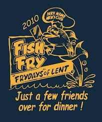 Fish fry ticket template office parties church and barbecue for Fish fry menu ideas