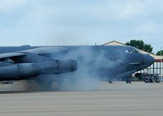 "B-52H Stratofortress - ""Lucky Lady IV"", Cart Start."