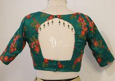 Simple blouse with tassels and beads. For Orders and Queries reach us at 044-42179088 / whatsapp: 9789903599  Address: 21, Valmiki street, Thiruvanmyur #green #threadworkblouse #tassels #blouses #blousebyYUTIDesignerhouse #sareeblouses #brightred #stylestatement  #dressesbyyuti #yuti #yutidesignerhouse #yutiforbrides #yutiforbridesmaids #sareesbyuti #momanddaughter #duodresses #yutiformomanddaughter #silksareeblouse #silksaree
