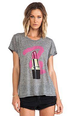 Lauren Moshi camiseta gráfica edda en Color negro | REVOLVE