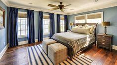 Шторы для спальни - умиротворение и спокойствие. #интерьер #дизайн #шторы #пошив_штор #дизайн_штор