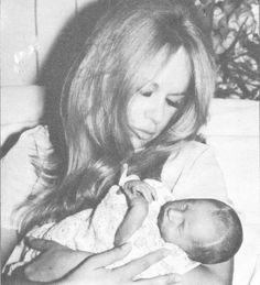 Aliki Vougiouklaki with her son John!