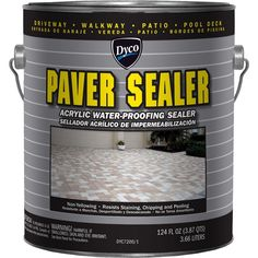 Concrete Sealant, Paver Sealer, Wood Sealer, Cement Pavers, Painted Pavers, Concrete Patio, Painted Bricks, Pavers For Sale