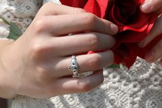Silver Ring With Diamond Product Silver Claddagh Ring, Claddagh Rings, Sterling Silver Rings, Engagement Ring Settings, Engagement Rings, Jewelry Stores Near Me, Best Friend Jewelry, Couple Jewelry, Platinum Jewelry