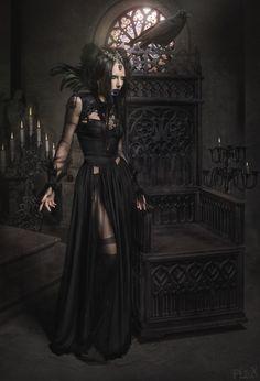 "melodiezmel: "" z0mbi3-s0krat3s: ""Dark gothic visions From -> FlexDreams "" """