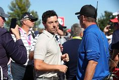 The spectator is reported to have insulted the player  Read more: http://www.dailymail.co.uk/sport/golf/article-3816458/Ryder-Cup-2016-LIVE-standings-team-scores-golf-results-Team-USA-vs-Team-Europe.html#ixzz4LwbqyD8G  Follow us: @MailOnline on Twitter | DailyMail on Facebook