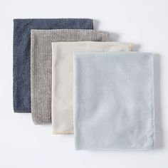 west elm clean-up crew utility towels (set of 4) for wood, glass, stainless steel, and all purpose surface cleaning
