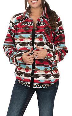 2eab43e8 Outback Trading Company Cavender's Exclusive Women's Fleece Dawn Big Shirt  | Cavender's Ladies Western Shirts,