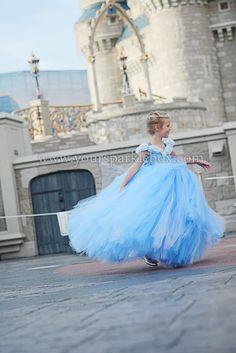Cinderella Tutu Dress Costume by YourSparkleBox