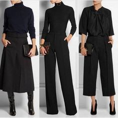 – stylish-and-comfy-sweater-… – – Winter Outfits – Classic Work Outfits, Stylish Work Outfits, Winter Outfits For Work, Classy Outfits, Fall Outfits, Casual Outfits, Fashion Outfits, Womens Fashion, Trendy Fashion