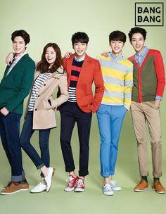 CN Blue and Kang Sora for Bang Bang Spring 2014 Catalogue