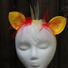 Sunset Shimmer Pony Ear and Mane Headband  Sunset by BloomsNBugs