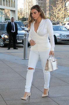 Looking very classy in jeans as well.  Rosalyn...