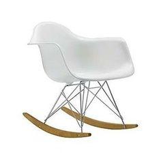 Amazon.com: Rocker Arm Chair In White: Furniture U0026 Decor $118.31
