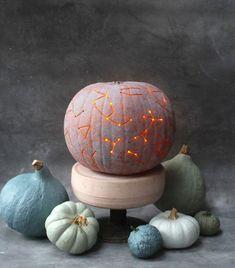DIY Constellation pumpkin