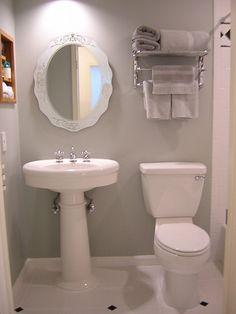 The Art Gallery Bathroom Ideas For Small Bathrooms Budget For the Home Pinterest Small bathroom Budgeting and Basements