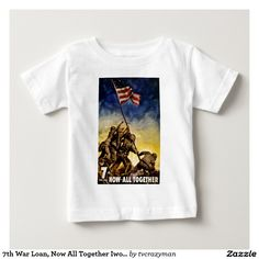 7th War Loan, Now All Together Iwo Jima T Shirt