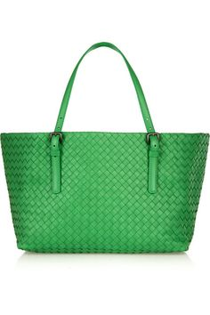 BOTTEGA VENETA  Shopper small intrecciato leather tote $6,537