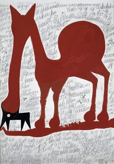 Carlo Zinelli Italy) 1967 San Giacomo Hospital Verona Italy gouache and pencil Outsider Art, Gouache, Art Visionnaire, Graffiti, Atelier D Art, Art Populaire, Art Brut, Naive Art, Visionary Art