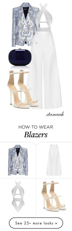 """""""frozen"""" by s-arsenic on Polyvore featuring Balmain, Agent Provocateur, Miguelina, Giuseppe Zanotti and Jeffrey Levinson"""