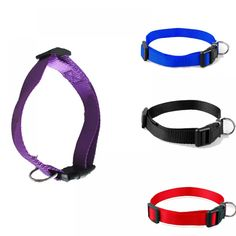 Sale 1 Pc Pet Dog Collars Charming 4 Colors best price: Sale 1 Pc Pet Dog Collars Charming 4 Colors 4 Sizes S-XL Nylon Solid Collar Gift. Brand New and High QualityColor:Blue,Purple,Black,Red Measure:- Short Dog Quotes, Nylons, Pets Online, Cat Store, Dog Bag, Buy Pets, Dog Houses, Dog Supplies, Exotic Pets