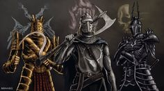 Dark Souls / Demon's Souls: Vile Knights by MenasLG
