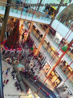 Christmas Decorative at Orion Mall