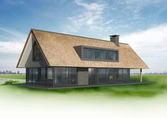 Architectuur Vrijstaande Woning Zijaanbouw Google Zoeken Houtskeletbouw Bungalow Barn House Conversion, Forest Village, Modern Contemporary Homes, Wooden House, Simple House, Home And Living, Tiny House, New Homes, House Design